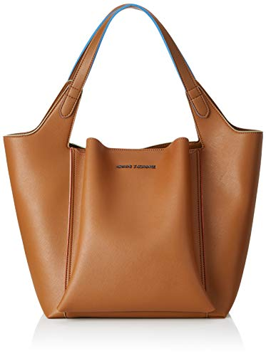 (A|X Armani Exchange Women's Shoulder Bag, cognac - cognac 197)