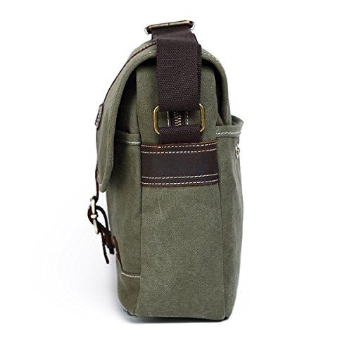 Retro Shoulder Bag Casual Haoxiaozi Canvas Men's Khaki Bag Simple Outdoor Khaki dqwx5A