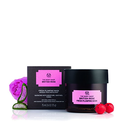 The Body Shop British Rose Fresh Plumping Mask, Expert Facia