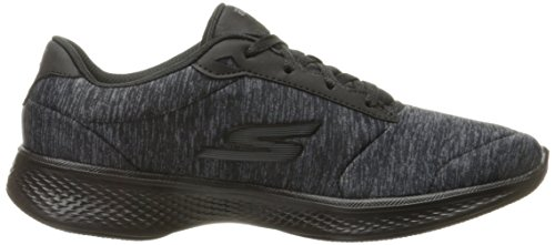 4 Black Go Sneakers Glorify Walk Women's Heather Gray Skechers qwtzYPSxt