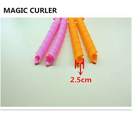magic leverag circle hair styling roller curler convenient diy magic circle hair styling rollers curlers 3677