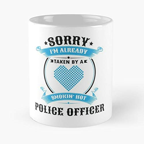 Funny Police Officer Gift Wife Husband - 11 Oz White -coffee Mug- Unique Birthday Gift-the Best For ()