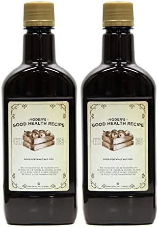 Yoder's Good Health Recipe Tonic (2 Pack)
