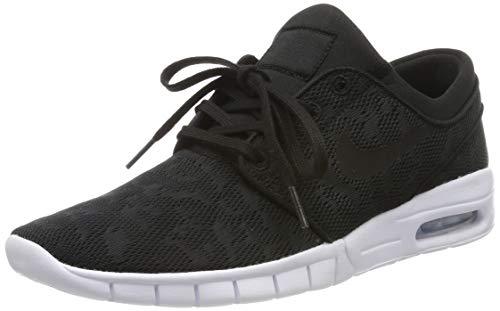 Nike Men's Stefan Janoski Max Black/Black/White Skate Shoe 12 Men US