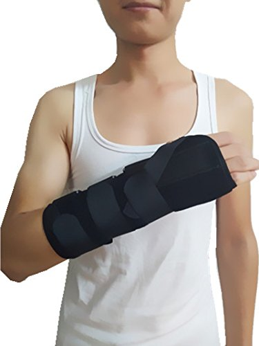 (Forearm and Wrist Support Splint Brace Forearm Immobilizer Brace (Left Hand Medium))