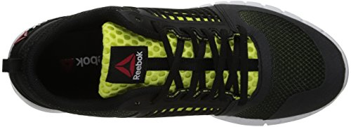Reebok Zquick 2.0 Laufschuh Black / High Viscous Green / White