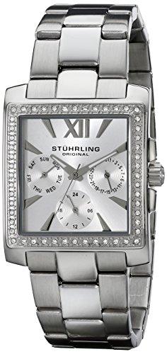 - Stuhrling Original Women's 540.01 Victoria Quartz Multifunction Swarovski Stainless Steel Watch