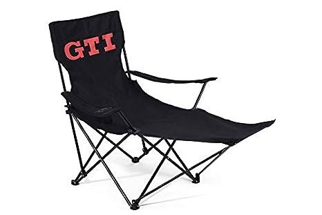 Chaise de camping gti original volkswagen gti collection relaxstuhl