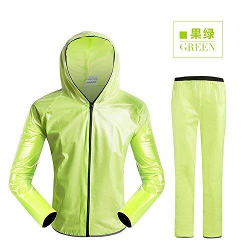 Et Routière L'environnement Vêtements Pantalon De Imper Imperméables Vert Pour Fluorescent Assainissement Femmes Jaune Avertissement Vert Imperméable Combinaison Sécurité Réfléchissant Hommes Pluie qnxO7Hwtv