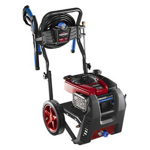 (Briggs & Stratton 20569 POWERflow+ 5.0-GPM 3000-PSI Gas Pressure Washer with Professional Series OHV 190cc Engine and Easy Start Technology)