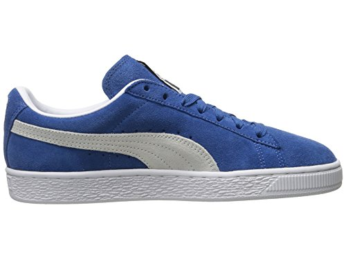 white Blue Classic Baskets Puma Olympian Mode Suede Mixte Adulte 8Zxn6x