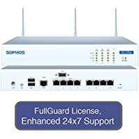 Sophos XG 125W Wireless Next-Gen UTM Firewall TotalProtect Bundle with 8 GE ports, FullGuard License, 24x7 Support - 1 Year