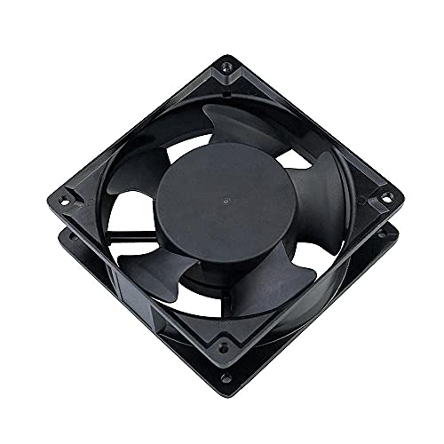 KEETOZ AC Axial Cooling Blower Exhaust Rotary Fan, for The Room,Office Kitchen,Black-Small Size Approx 4 inch (Approx 4 Inch)