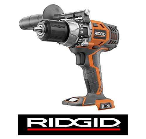 Ridgid 18V Li-Ion 1/2in VSR HAMMER Drill/driver X4 R8611501 Cordless, Keyless Review