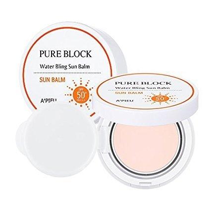 [A'PIEU] Pure Block Water Bling Sun Balm SPF50+/PA+++ 13g