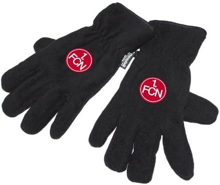 1.FC N/ürnberg Handschuhe Fleece versch Gr/ö/ße:M Gr/ö/ßen FCN Fanartikel