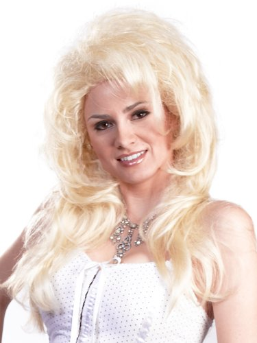 Enigma Wigs Women's New Dolly, Blonde, One Size ()