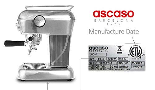 Ascaso Dream Servicio Kit + versitale (después de 09/2012 ...