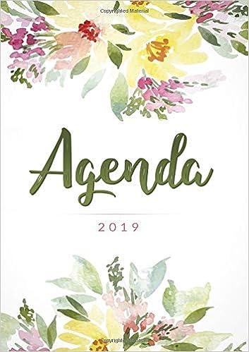 Amazon.com: Agenda 2019: Agenda settimanale con calendario ...