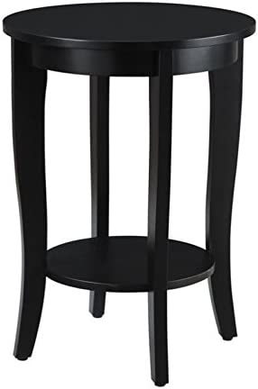 Pemberly Row Round Table in Black