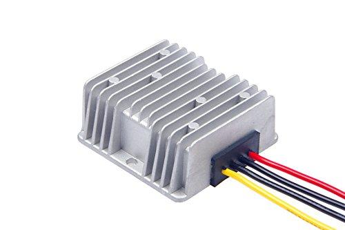 KNACRO DC-DC Convert DC 6V 9V 12V 6-20V to DC 12V 12A DC Voltage Stabilizer 144W Car Power Supply Regulator Waterproof (Regulator Voltage Amp 15)