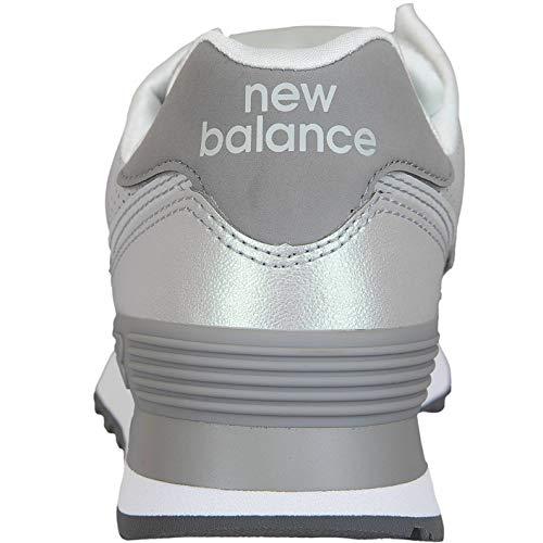 Donna 574 Chiuse Scarpe New Balance Argento wnq0gYB1