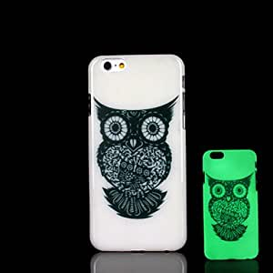 QHY Animal Pattern Glow in the Dark Case for iPhone 6 Cover