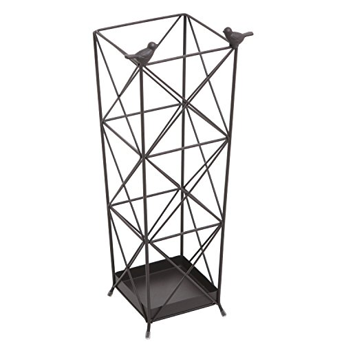 19 inch Tall Freestanding Metal Umbrella Holder Stand Rac...