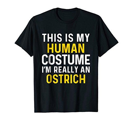 I'm an Ostrich Halloween T Shirt Funny Costume Idea