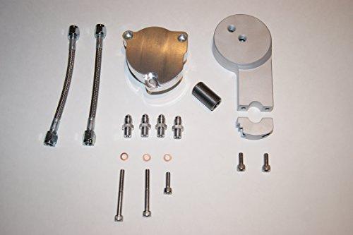 Yamaha V-Star 1100 RAW Oil Filter Relocation Kit Extension - Filter 1100 Oil V-star