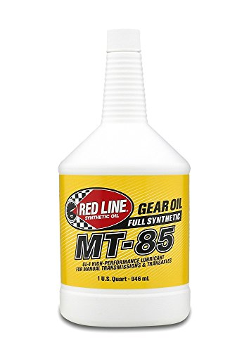 Red Line (50504) MT-85 75W-85 GL-4 Manual Transmission and Transaxle Lubricant - 1 (Redline Mtl Oil)