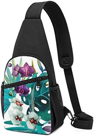 ボディ肩掛け 斜め掛け 植物 絵画 ショルダーバッグ ワンショルダーバッグ メンズ 軽量 大容量 多機能レジャーバックパック