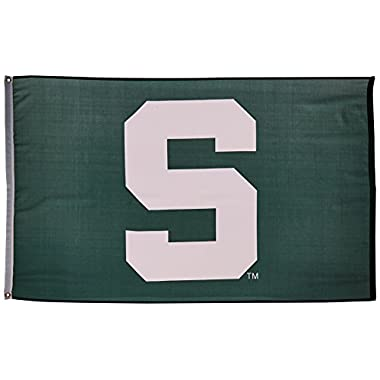 MSU Michigan State Spartans University Large College Flag