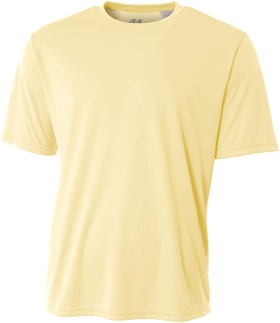 A4 Men's Moisture Wicking Cooling Performance T-Shirt