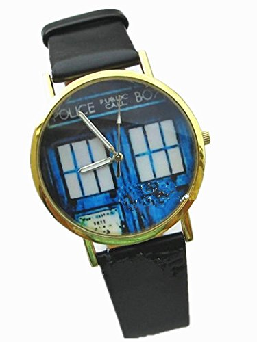 Top New Fashion Rose Gold Concept Pattern Unisex Watch Jesus,einstein,doctor Who,the Lord of the Rings,stylish Misical,flower, Children Watches (Doctor Who)