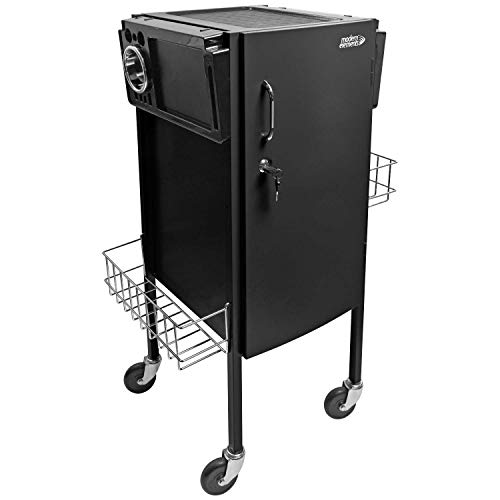- Modern Elements JLS-500 Metal Trolley Black