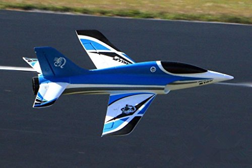 Stinger High Performance 4S Blue 64mm EDF Jet Ducted Fan RC Airplane PNP (No Radio, battery, charger)