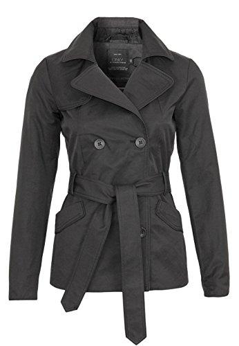 Only jacket Onlmolly Petit short trenchcoat Black