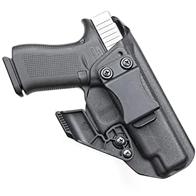 BrotherCraft Kydex Holster for Glock 48 - IWB AIWB with Removable Claw Concealment Wing, Adjustable Cant and Ride Height- Made in The USA