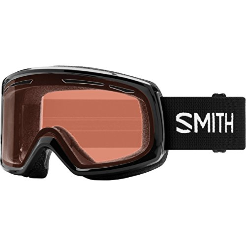 Smith Optics Womens Drift Snow Goggles Black Frame/RC36 Solid Ridge Crystal