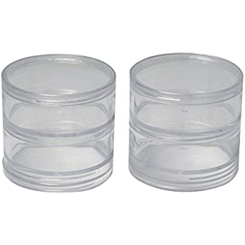 Amazoncom SE 87446BB 4 Plastic Storage Containers with Stackable