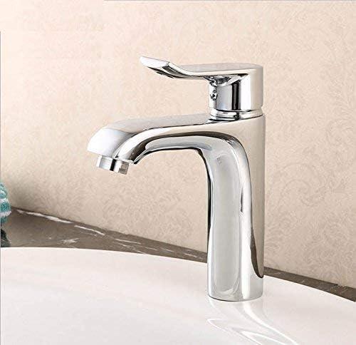 CLJ-LJ 洗面台の蛇口、銅ホットとコールドバスルーム、洗面台、浴室、カウンター盆地、単穴、現代のシングルHandlequality保証とシンプルな古典的なレトロラグジュアリーホームデコレーション