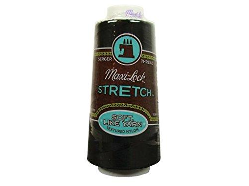 (American & Efird A& E Thread 2000yd Maxi Lock Stretch Black (AME54.32002))
