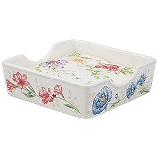 Lenox Butterfly Meadow Napkin Box with Napkins