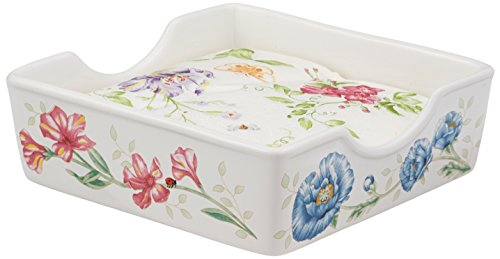 Lenox Butterfly Meadow Napkin Box with Napkins