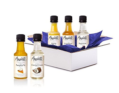 Amoretti Syrup Sample Box, 8 or more samples ($9.99 credit with purchase)