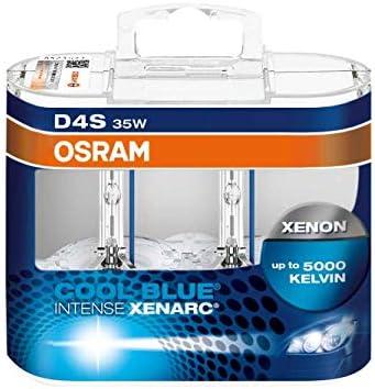 2x OSRAM D3S COOL BLUE INTENSE XENARC 6000 KELVIN Xenon Brenner Lampe.