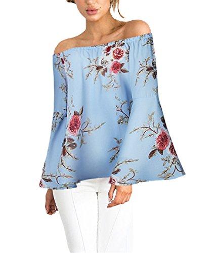 donna blu Blusa 365 da shopping qBT7TwPv