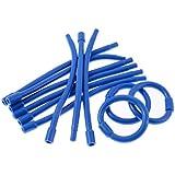 Bigodim Circular Número 2 com 12, Hair Bonitinho, Azul