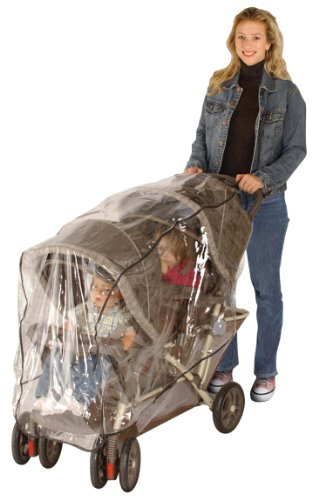 Rain Cover For Double Pram - 1